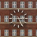 clock in Düsseldorf (D)